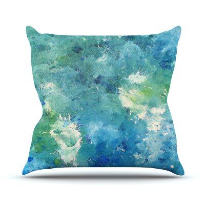 Sporatically Throw Pillow Size: 26 H x 26 W x 1 D