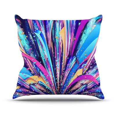 Enjoy Life by Danny Ivan Throw Pillow Size: 20 H x 20 W x 1 D