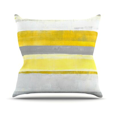 Lemon by CarolLynn Tice Throw Pillow Size: 26 H x 26 W x 1 D