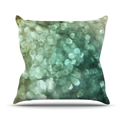 Sparkle by Debbra Obertanec Glitter Throw Pillow Size: 26 H x 26 W x 1 D