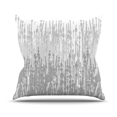 Drops by Frederic Levy-Hadida Throw Pillow Size: 18 H x 18 W x 3.7 D