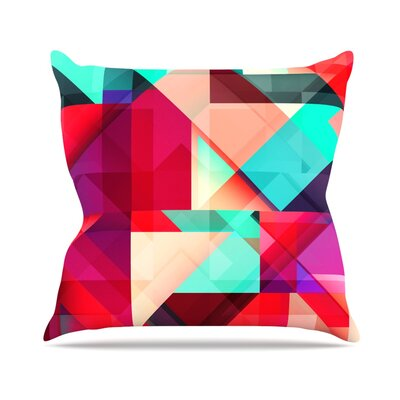 Still New by Danny Ivan Throw Pillow Size: 18 H x 18 W x 1 D