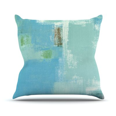 Announced by CarolLynn Tice Throw Pillow Size: 26 H x 26 W x 1 D