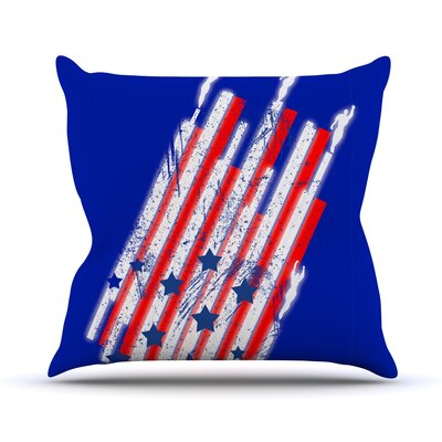 Going 4ward Throw Pillow Size: 16 H x 16 W x 1 D