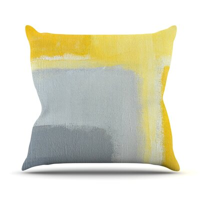 Inspired by CarolLynn Tice Throw Pillow Size: 16 H x 16 W x 1 D