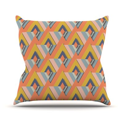 So Cool by Akwaflorell Throw Pillow Size: 26 H x 26 W x 1 D