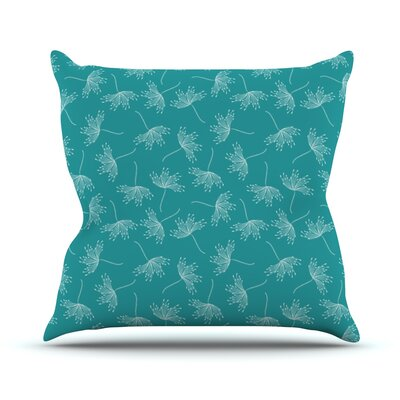 Windswept Throw Pillow Size: 18 H x 18 W x 1 D