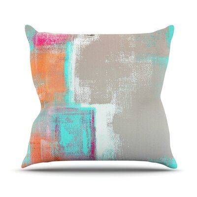Gifted by CarolLynn Tice Throw Pillow Size: 18 H x 18 W x 1 D