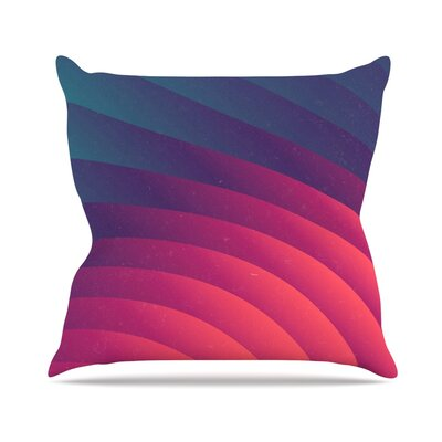 Reservoir Lines by Danny Ivan Geometric Throw Pillow Size: 26 H x 26 W x 1 D