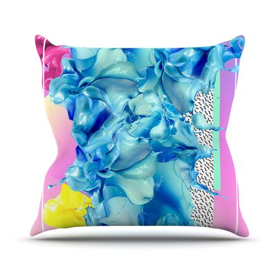 Alothea by Danny Ivan Throw Pillow Size: 16 H x 16 W x 1 D