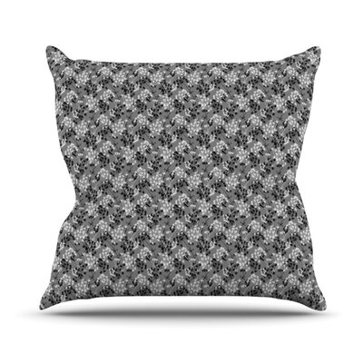 Dandy by Holly Helgeson Floral Throw Pillow Size: 16 H x 16 W x 1 D