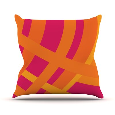 Tangled by Fotios Pavlopoulos Throw Pillow Size: 16 H x 16 W x 1 D