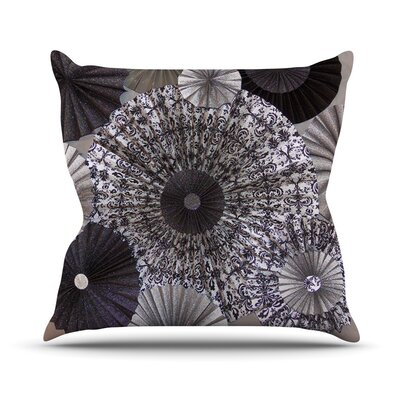 Shadows by Heidi Jennings Circles Throw Pillow Size: 20 H x 20 W x 4 D