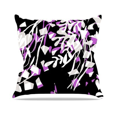 Night by Gabriela Fuente Throw Pillow Size: 16 H x 16 W x 1 D