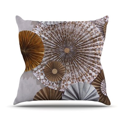 Venice by Heidi Jennings Throw Pillow Size: 18 H x 18 W x 3 D