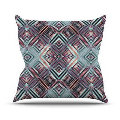 Calendoscope by Gabriela Fuente Throw Pillow Size: 18 H x 18 W x 1 D