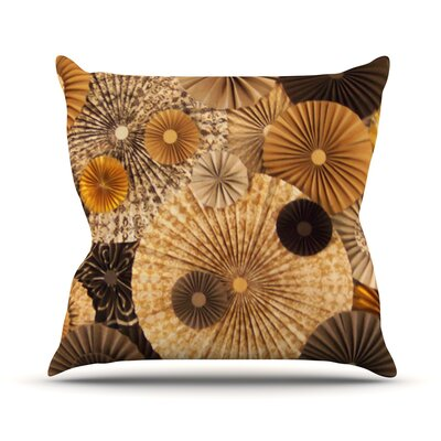 Grounded by Heidi Jennings Paper Throw Pillow Size: 20 H x 20 W x 4 D