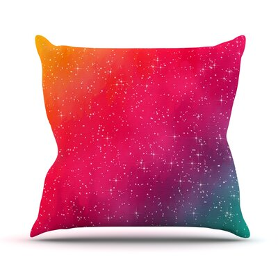 Colorful Constellation by Fotios Pavlopoulos Glam Throw Pillow Size: 18'' H x 18'' W x 1