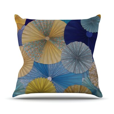 Suspension by Heidi Jennings Throw Pillow Size: 16 H x 16 W x 3 D