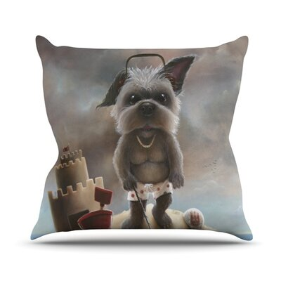 Grover Throw Pillow Size: 26 H x 26 W x 5 D