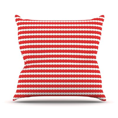 Feeling Festive by Heidi Jennnings Throw Pillow Size: 18 H x 18 W x 3 D