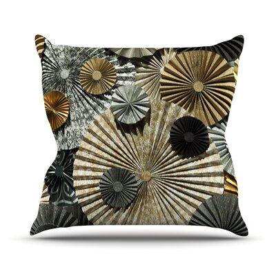 All That Glitters by Heidi Jennings Glitter Throw Pillow Size: 26 H x 26 W x 5 D