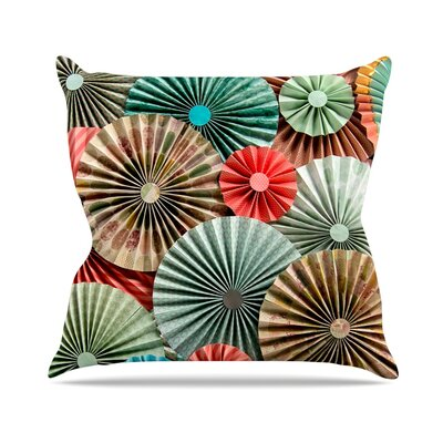 Sherbert by Heidi Jennings Throw Pillow Size: 18 H x 18 W x 3 D