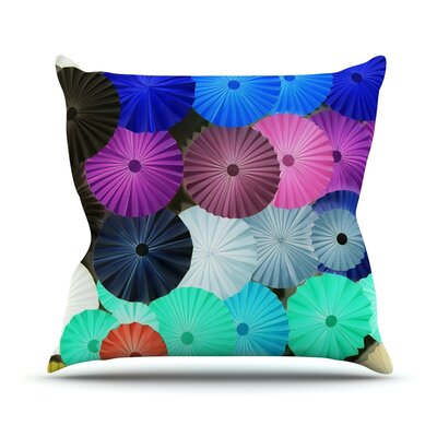 Graceful by Heidi Jennings Throw Pillow Size: 16 H x 16 W x 3 D