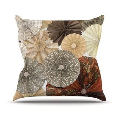 Dusty Road by Heidi Jennings Throw Pillow Size: 16 H x 16 W x 3 D
