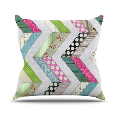 Fabric Much? by Heidi Jennings Cloth Throw Pillow Size: 20 H x 20 W x 4 D