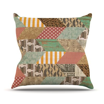 Hodge Podge by Heidi Jennings Vintage Texture Throw Pillow Size: 16 H x 16 W x 3 D