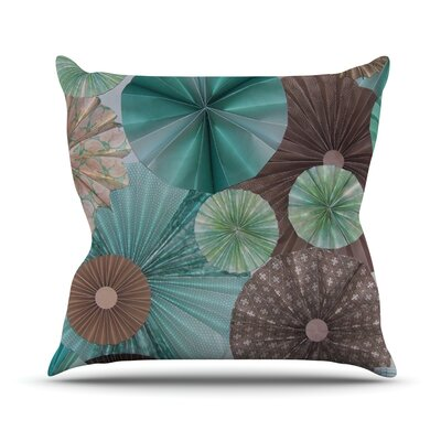 Atlantis by Heidi Jennings Throw Pillow Size: 16 H x 16 W x 3 D