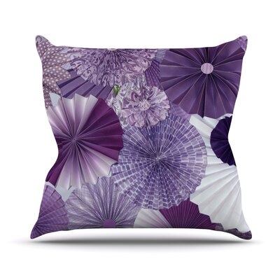 Lavender Wishes by Heidi Jennings Throw Pillow Size: 20 H x 20 W x 4 D