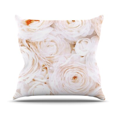 Blessed by Heidi Jennings Rose Throw Pillow Size: 16 H x 16 W x 3 D