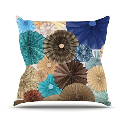 Day At The Beach by Heidi Jennings Throw Pillow Size: 26 H x 26 W x 5 D