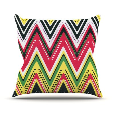 Jamaican Me Crazy by Heidi Jennings Throw Pillow Size: 20 H x 20 W x 4 D