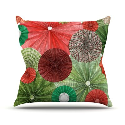 Christmas Remix by Heidi Jennings Holiday Throw Pillow Size: 26 H x 26 W x 5 D