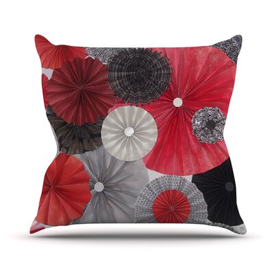 Kyoto by Heidi Jennings Throw Pillow Size: 16 H x 16 W x 3 D