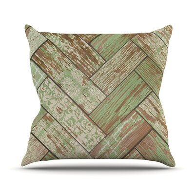 Patina by Heidi Jennings Throw Pillow Size: 20 H x 20 W x 4 D