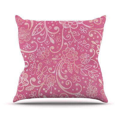Too Much by Heidi Jennings Throw Pillow Size: 18 H x 18 W x 3 D
