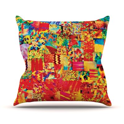 Painting the Soul by Ebi Emporium Throw Pillow Size: 20 H x 20 W x 4 D