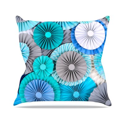 Brunch at Tiffanys by Heidi Jennings Throw Pillow Size: 18 H x 18 W x 3 D