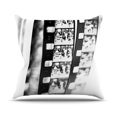 Memories by Ingrid Beddoes Filmstrip Throw Pillow Size: 18 H x 18 W x 3 D