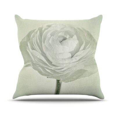 Whity by Iris Lehnhardt Floral Throw Pillow Size: 18 H x 18 W x 3 D