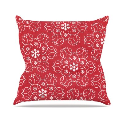 Christmas Spirit by Heidi Jennnings Throw Pillow Size: 26 H x 26 W x 5 D