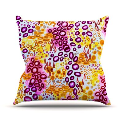 Persuasin by Ebi Emporium Throw Pillow Size: 26 H x 26 W x 5 D, Color: Purple
