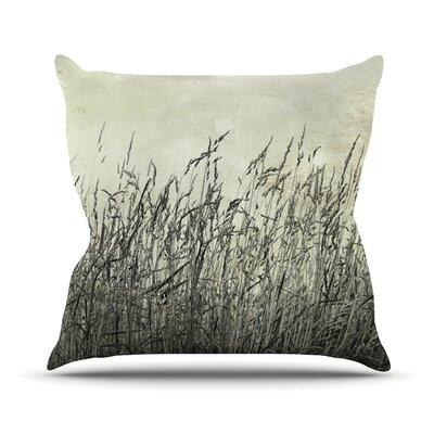Summer Grasses by Iris Lehnhardt Throw Pillow Size: 16 H x 16 W x 3 D
