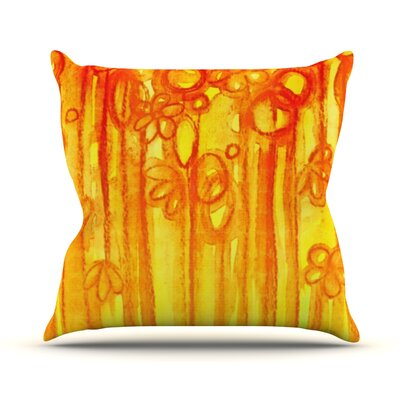 Summer Sentiments by Ebi Emporium Throw Pillow Size: 16 H x 16 W x 3 D