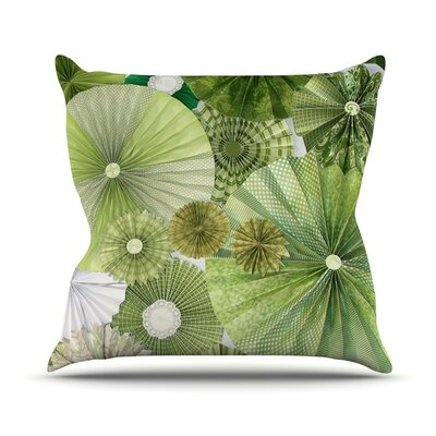 Green Thumb by Heidi Jennings Throw Pillow Size: 20 H x 20 W x 4 D