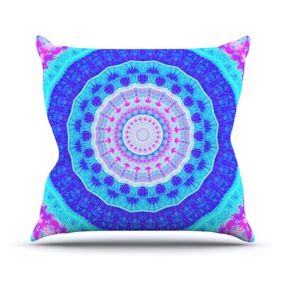 Summer Colors by Iris Lehnhardt Throw Pillow Size: 16 H x 16 W x 3 D